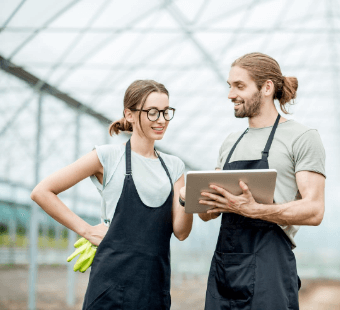 projectmanagement agrarische bedrijven in de glastuinbouw, landbouw, techniek en voedselverwerking (food) sector